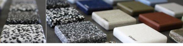 22 Neue Corian Farben 2012 Mineralwerkstoff Hersteller Dupont