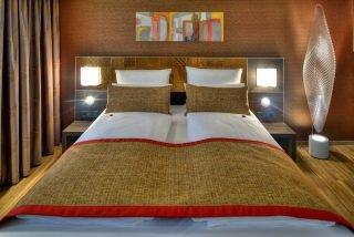 Hoteleinrichtungen am Beispiel ArtHotel Kiebitzberg - Doppelbett