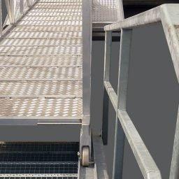 Steganlagenbrücke