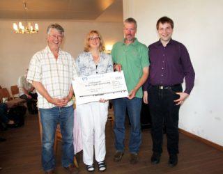 Übergabe Check für Orgelverein Havelberg