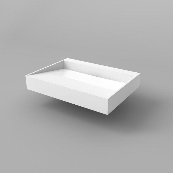 Waschbecken design eckig for Designer waschtische badezimmer