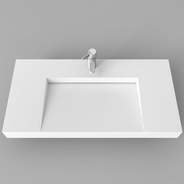 Design-Waschtisch Tria Bella I - Kiebitzberg® | {Waschbecken design eckig 7}