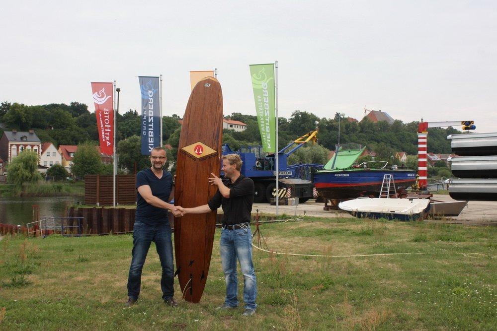 2wave Surfwellen Boot