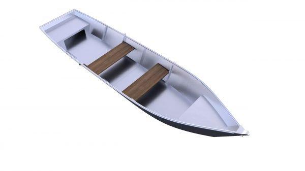 Havelkahn Modell2020 241100015 Havelkahn Aluboot Glattboden