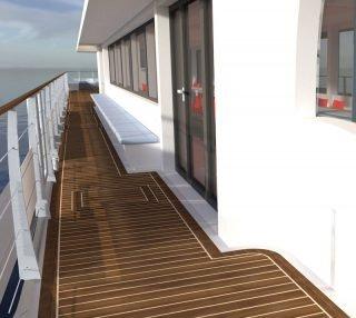Solarfahrgastschiffe - Gangway