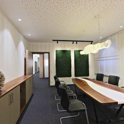 Innenausbau Notariat-Beurkundungsraum Eingang