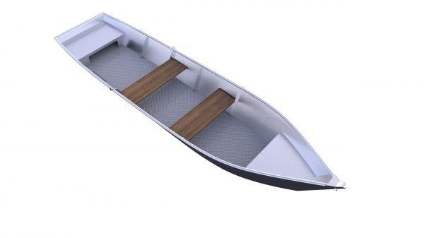 Havelkahn Modell2020 241100020 Havelkahn Aluboot Riffelboden